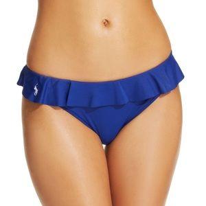Polo Ralph Lauren Ruffle Hipster Bikini Bottoms